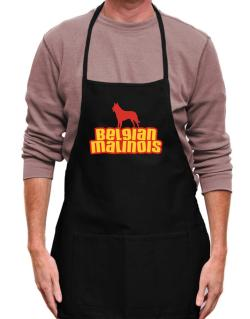Breed Color Belgian Malinois Apron