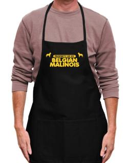 Property Of My Belgian Malinois Apron