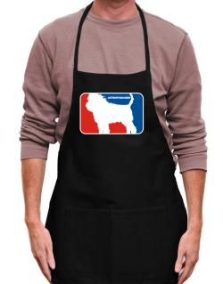 Affenpinscher Sports Logo  Apron