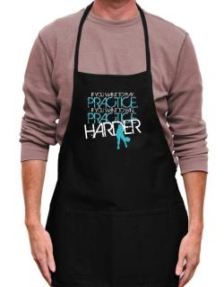 PRACTICE HARDER Pickleball  Apron