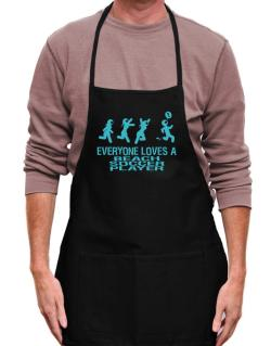 Everyone Loves A Beach Soccer Player Apron
