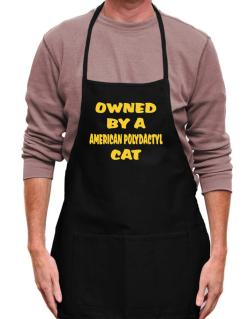 Owned By S American Polydactyl Apron