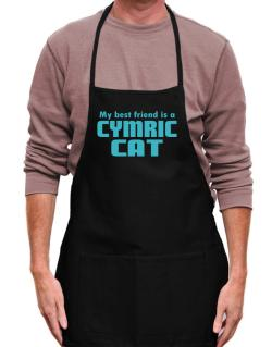 My Best Friend Is A Cymric Apron