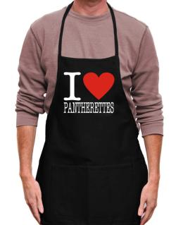 I Love Pantherettes Apron