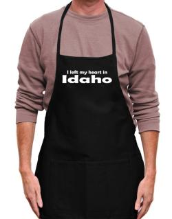 I Left My Heart In Idaho Apron