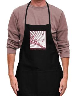 Tanzanian Hip Hop - Musical Notes Apron
