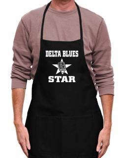 Delta Blues Star - Microphone Apron