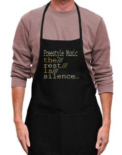 Freestyle Music The Rest Is Silence... Apron
