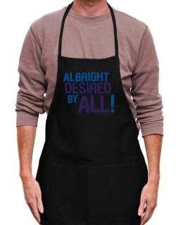 Albright Desired By All! Apron