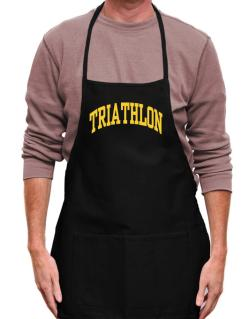 Triathlon Athletic Dept Apron