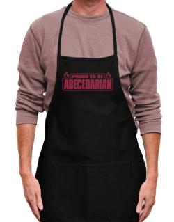 Proud To Be Abecedarian Apron