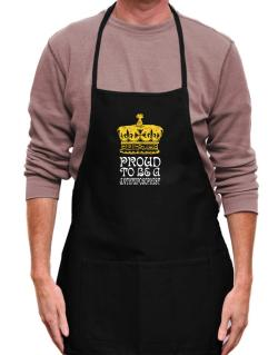 Proud To Be An Anthroposophist Apron