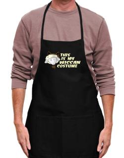 This Is My Wiccan Costume Apron