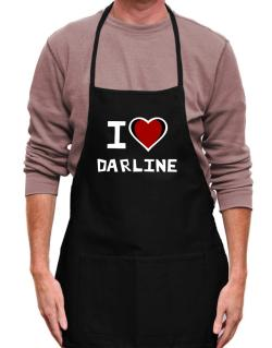 I Love Darline Apron