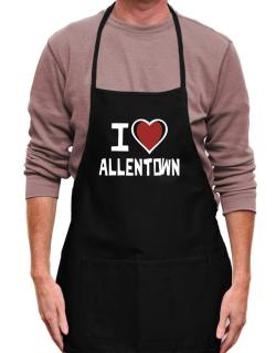 I Love Allentown Apron