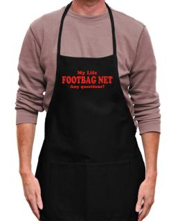 My Life Is Footbag Net ... Any Questions ? Apron