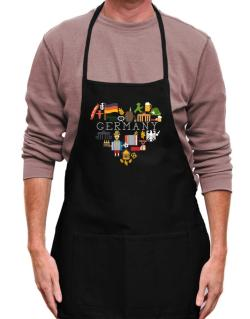 I love Germany Apron