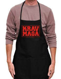 Krav maga art of combat Apron