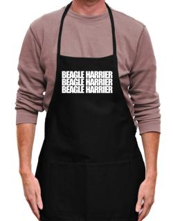 Beagle Harrier three words Apron