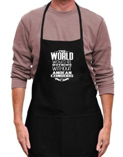 The world would be nothing without Andean Condors Apron