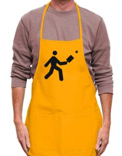 Pickleball Stickman Apron