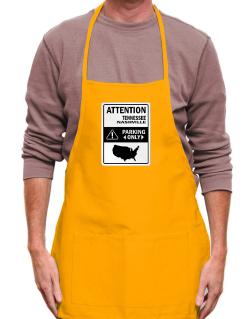 Attention Nashville Parking Only - Map  Apron