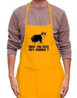 Have you seen my Manx? Apron