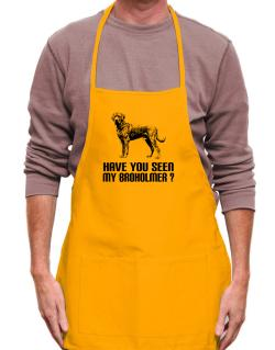 Have you seen my Broholmer? Apron