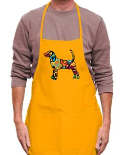 Psychedelic North Country Beagle Apron
