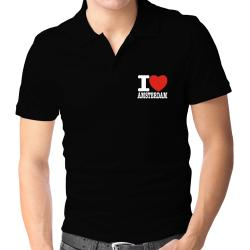 I Love Amsterdam Polo Shirt
