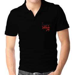 Being A ... Red Wolf Is Not A Crime Polo Shirt