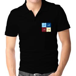 """ Aerobatics - Pop art "" Polo Shirt"