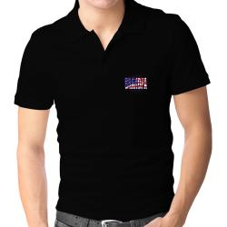Grandpa Tallahassee - Us Flag Polo Shirt