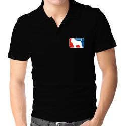 Affenpinscher Sports Logo  Polo Shirt