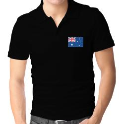 Australia Flag Polo Shirt
