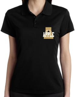 Property Of Apple Polo Shirt-Womens