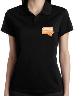 """ Computer Programmer ""  Adventure with pay Polo Shirt-Womens"