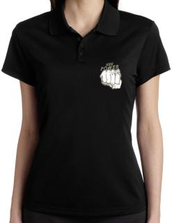 Kidd Power Polo Shirt-Womens