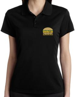 Saramaccan My Favorite Food Polo Shirt-Womens