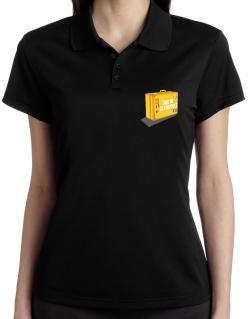 Take Me To Kabarole Polo Shirt-Womens