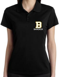 """ Bangkok - Initial "" Polo Shirt-Womens"
