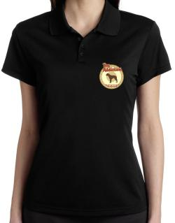 Dog Addiction : American Bulldog Polo Shirt-Womens