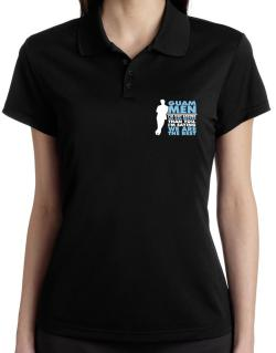 Guam Men I'm Not Saying We're Better Than You. I Am Saying We Are The Best Polo Shirt-Womens