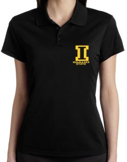 """ STATE ABC Idaho "" Polo Shirt-Womens"