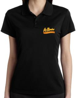 Hy Member For A Reason Polo Shirt-Womens