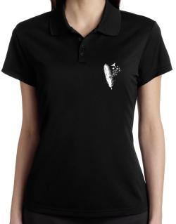 Birds of a feather Polo Shirt-Womens