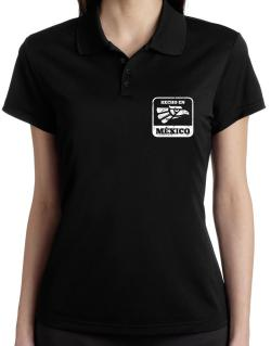 Hecho en Mexico Polo Shirt-Womens
