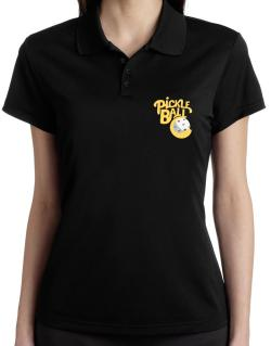 Pickleball Polo Shirt-Womens