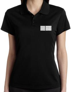 Beagle Harrier three words Polo Shirt-Womens