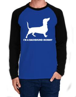 Dachshund mommy Long-sleeve Raglan T-Shirt
